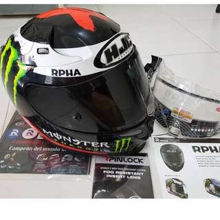HJC RPHA 10 Plus Lorenzo Replica
