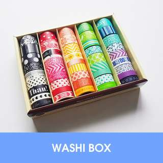 🚚 Washi box