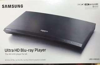 100% 全新(未開盒) Samsung UBD-M8500 4K UHD BD 碟機 4K 超高清藍光影碟播放機 4K Blu-ray