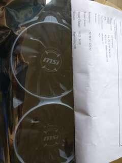 MSI rx580 無盒  有單 有2年保