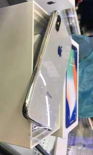 Kredit Iphone X 256gb Silver New proses cepat