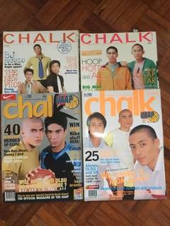 Chalk Magazine feat. NCAA and UAAP 2002-2005