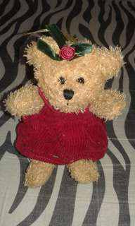 Teddy Bear with Red Dress