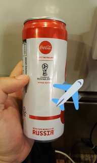 Russia World Cup coke