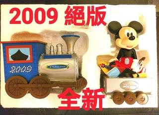2009年 紀念限量版 迪士尼Disney 夢想號列車 錢罌