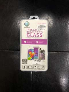 Premium Tempered Glass Screen Protector Iphone 6+