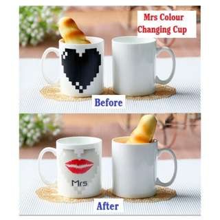 Mrs Colour Changing Cup