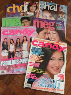 Chalk, MEG and Candy magazines set