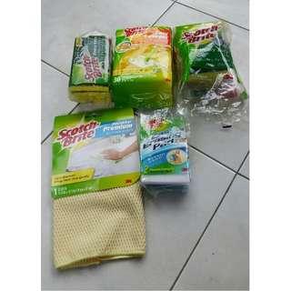 3M Scrotch Brite Cleaning/Kitchen Bundle