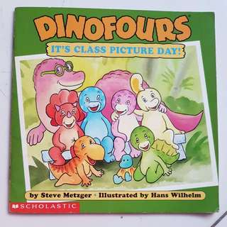 Dinasaurs Book Dinofours