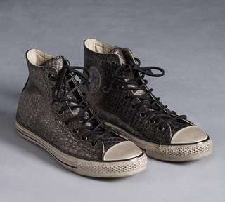 Converse x John Varvatos Snakeskin Silver Limited Edition