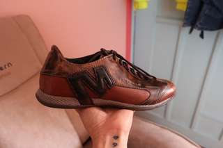 MERRELL brown leather shoes