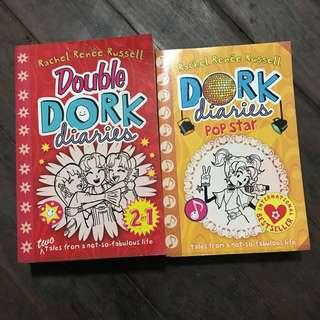 Both Dork Diaries for 300