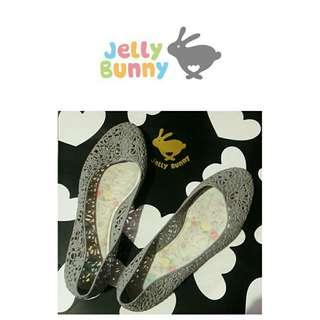Jelly Bunny Flats Grey