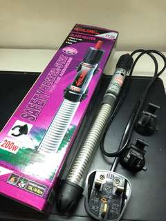 西龍水族暖管 200W 150L