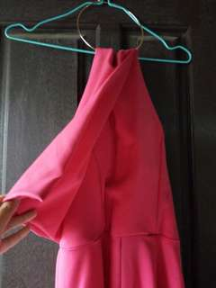 Hot Pink Mess Jumpsuit