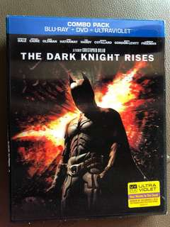 🚚 The Dark Knight Rises Bluray +DVD+ Ultraviolet Combo