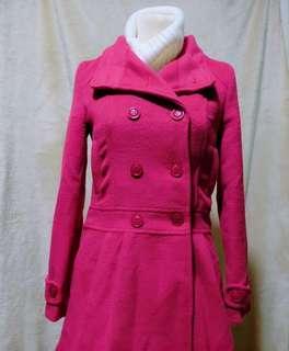 Fuschia Pink Winter coat