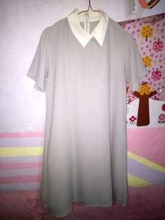 Dress Pendek Kerah