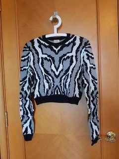 Torn by Ronny Zebra Print (High Quality Knit)