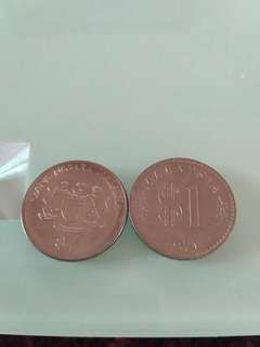 2 pcs Commemorative Coins