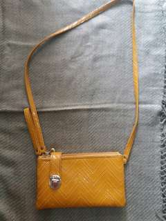 Mustard Mini Bag (Clutch Tali) Import