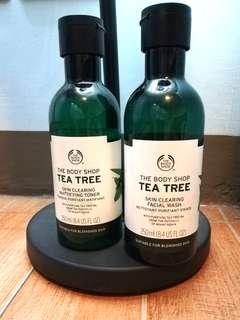The Body Shop Tea tree skincare set