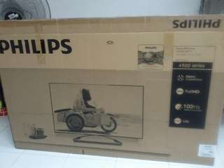 """50"""" Philips Empty Box"""