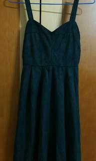 #Air Space 黑色短禮服 有內裡襯裙,全新含吊牌