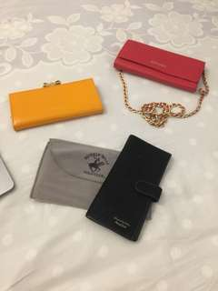 Ted Baker, Dissona & Polo Club Wallets