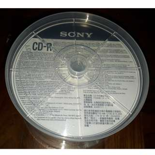 50 Sony Inkjet Printable Surface CD-R