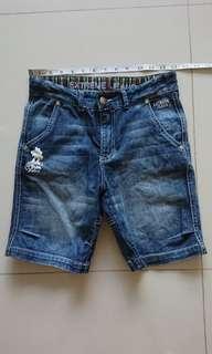 Boy's jeans Bermuda short