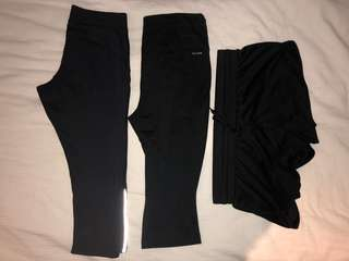 Size M athletic bottoms bundle deal for $12