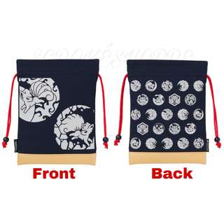 [PO] DRAWSTRING POUCH [NIGHT PARADE] - POKEMON CENTER EXCLUSIVE