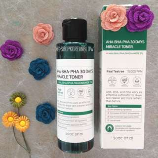 IN TRANSIT Somebymi Miracle Toner + Soap