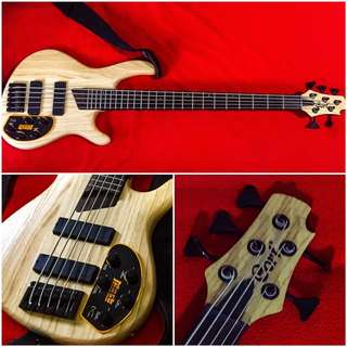 Cort Artisan B5 Plus AS Electric Bass Guitar
