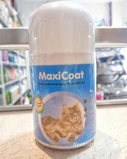 100 tabs MaxiCoat for Cat - healthy skin and coat