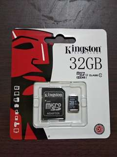 32GB Micro SD card - Kingston