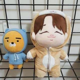 🚚 BTS 防彈少年團 朴智旻Jimin jimjim doll 整組 防彈兒子 防彈娃娃