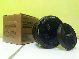 Lensa Fix For Canon... YONGNUO 50mm F1.8