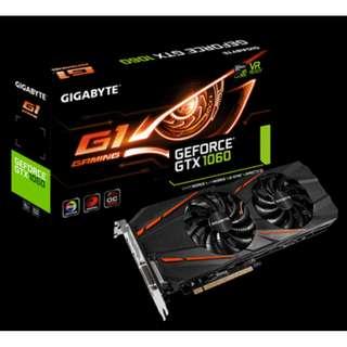 Gigabyte GTX 1060 G1 Gaming 3G