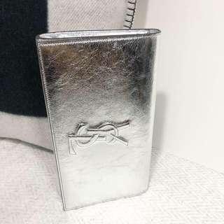 YSL Clutch in Silver