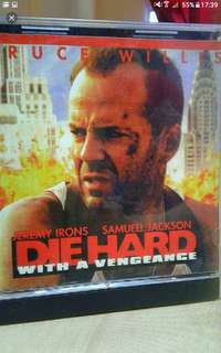 VCd Vcd sale Buy 2 get 1 free!  English   Die hard  with a vengeance