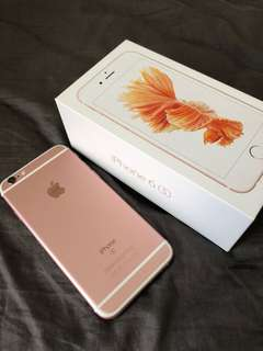 Iphone6s 128gb rose gold 玫瑰金