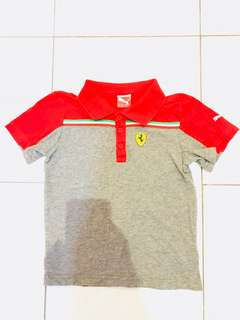 Authentic Puma boy polo shirt