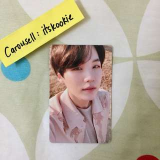 [WTS] BTS SUGA LOVE YOURSELF : TEAR PHOTOCARD (Y version)