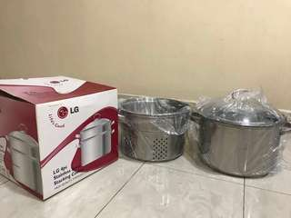 LG Multicooker Stainless Steel