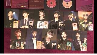 Wanna One Fan Con Mini poster + photocatd