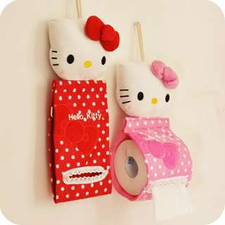 Hello Kitty Toilet Paper Hanger Holder Stand