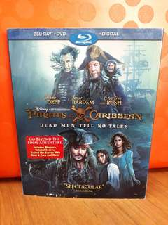 USA Blu Ray Slipcase - Pirates of the Caribbean 5 - Dead Men Tell No Tales